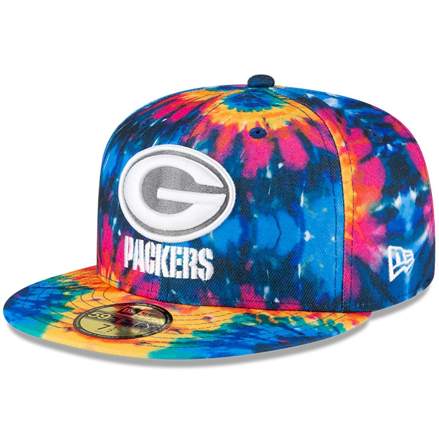 Green Bay Packers New Era Multi Color 2020 Nfl Crucial Catch 9fifty Snapback Adjustable Hat Game Over